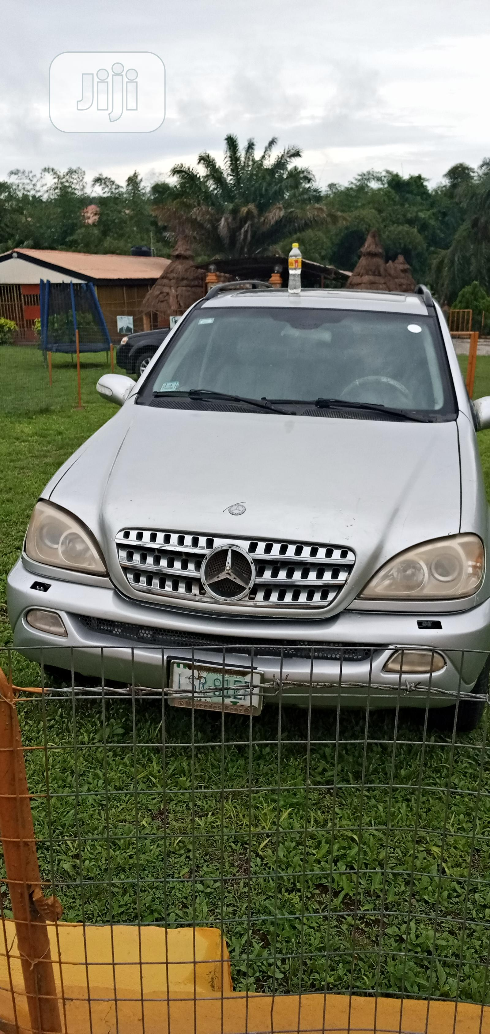Archive: Mercedes-Benz M Class 2003 Silver