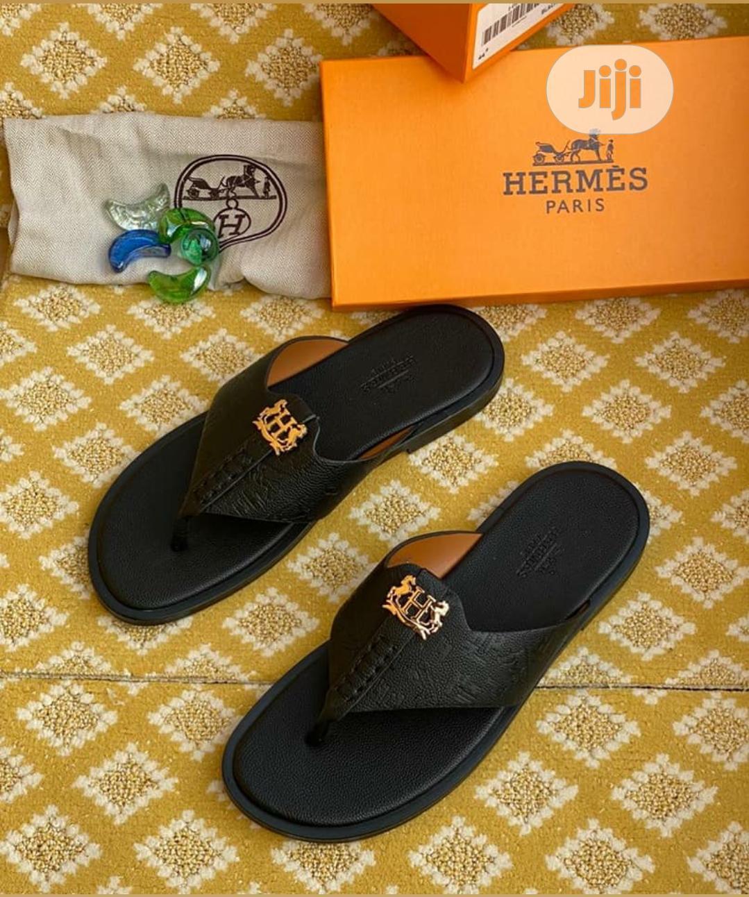 hermes paris slippers
