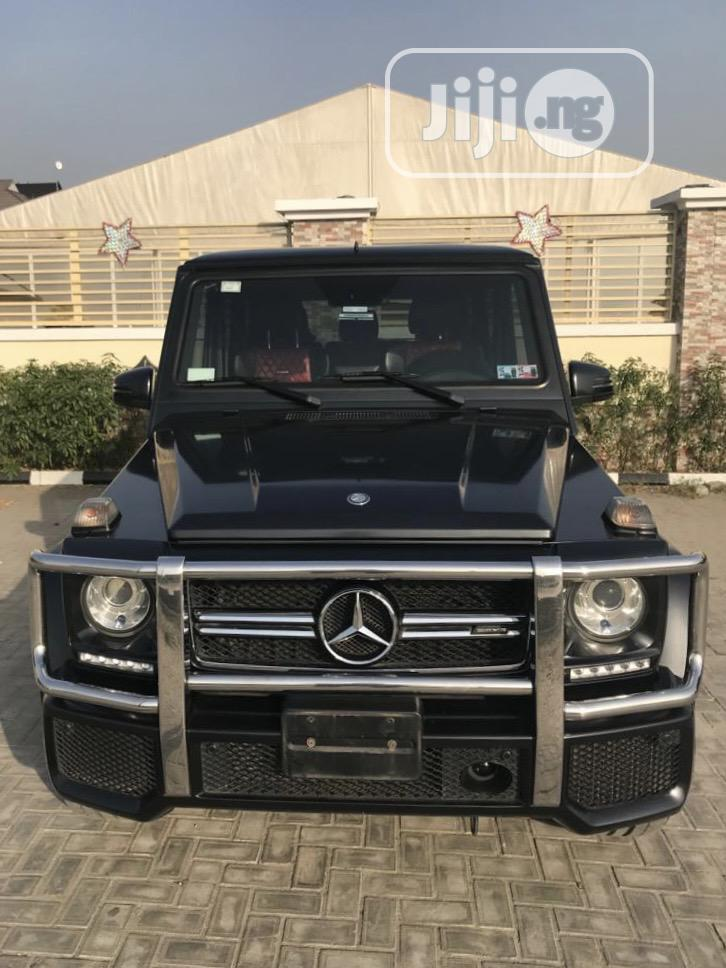 Mercedes-Benz G-Class 2015 Black | Cars for sale in Lekki, Lagos State, Nigeria