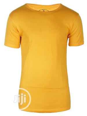 Yellow Company Cotton Club T-shirt | Clothing for sale in Lagos State, Surulere