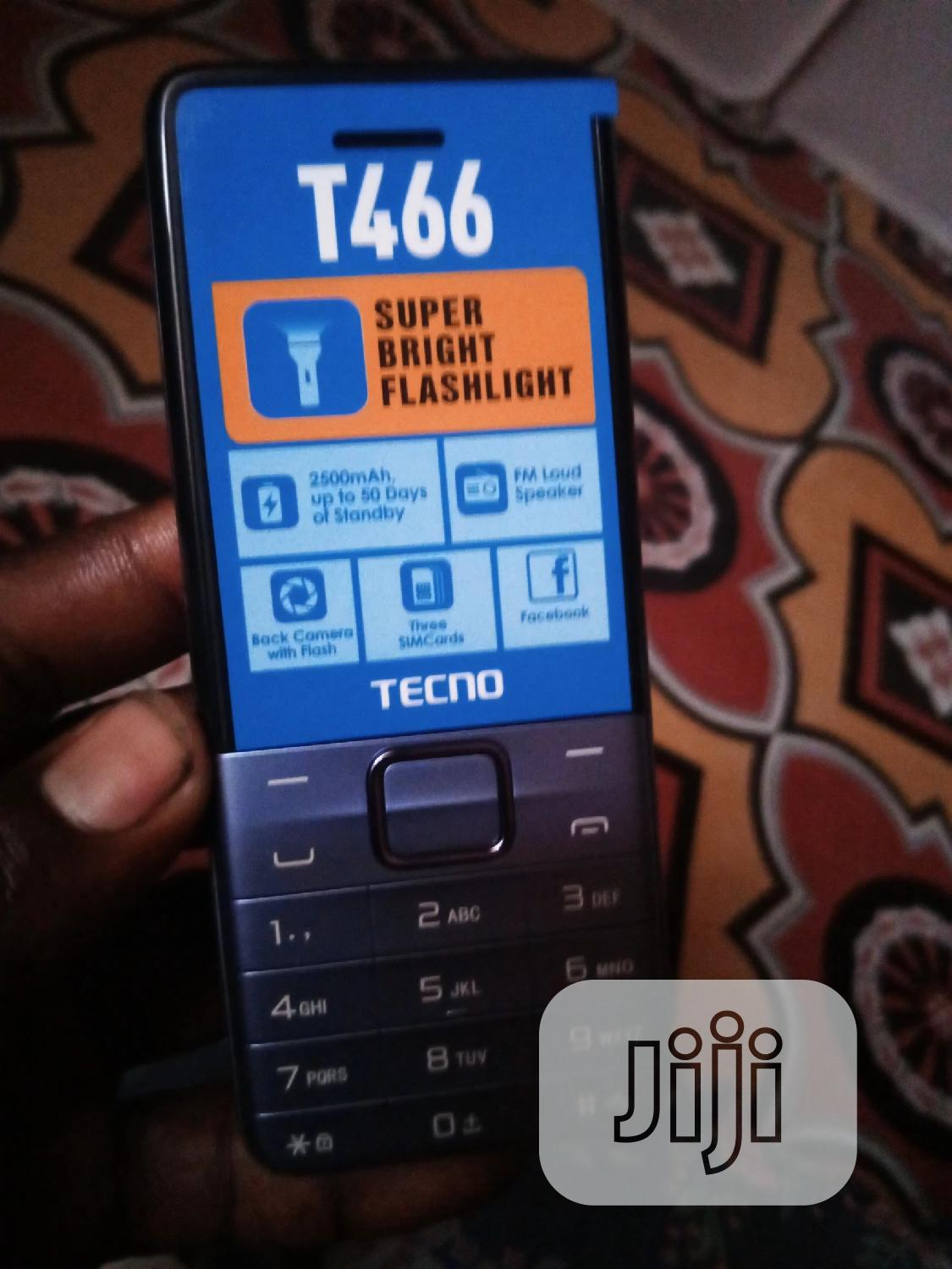 New Tecno T466 Blue