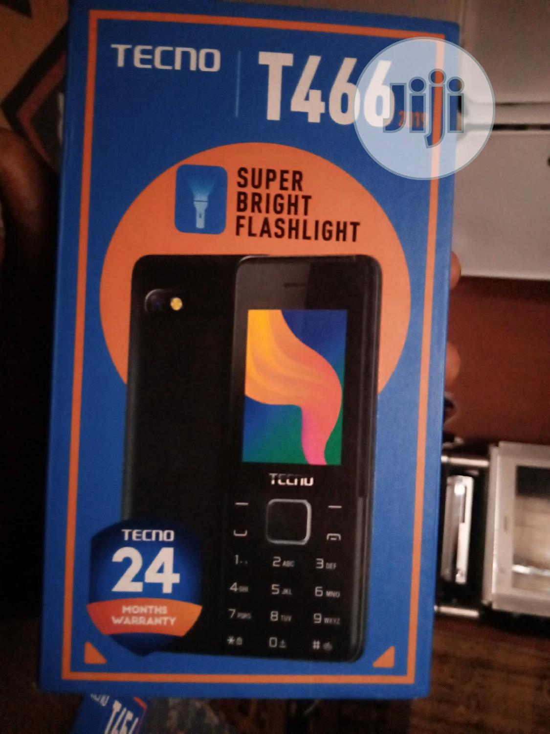 New Tecno T466 Blue | Mobile Phones for sale in Ikotun/Igando, Lagos State, Nigeria