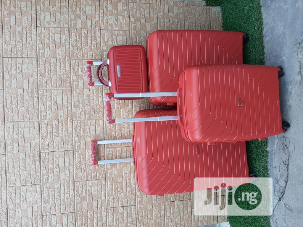 Brand New Unisex Luggage Trolley Bags (4 In 1)