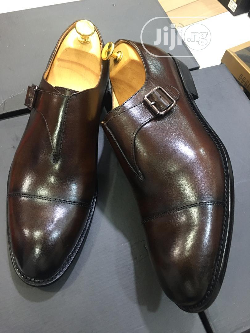 Tomford Leather Brown Shoe for Men