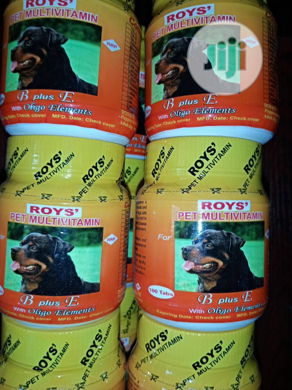 Roys Pet Mutivitamin And Cod Liver Oil | Pet's Accessories for sale in Oshimili South, Delta State, Nigeria