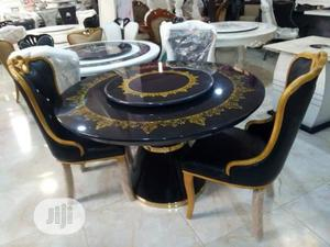 Royal Executive Round Dinning by 6 Chairs   Furniture for sale in Lagos State, Ojo