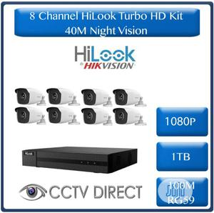 Hilook 8 Channel Combo Kit With 100m Cable,1tb And 8 Cameras | Security & Surveillance for sale in Lagos State, Ikeja