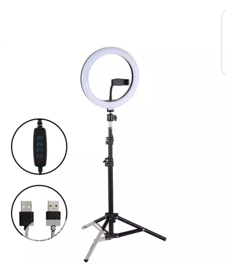 Archive: 26cm/10 Inch LED Ring Light With Light Stand Universal
