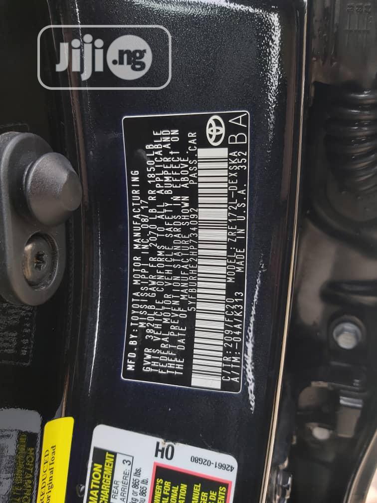 Toyota Corolla 2017 Black | Cars for sale in Gbagada, Lagos State, Nigeria