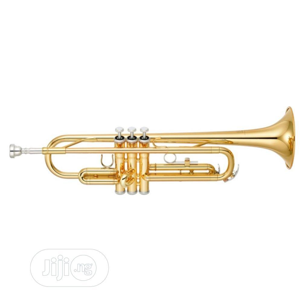 Archive: Yamaha Trumpet - Gold