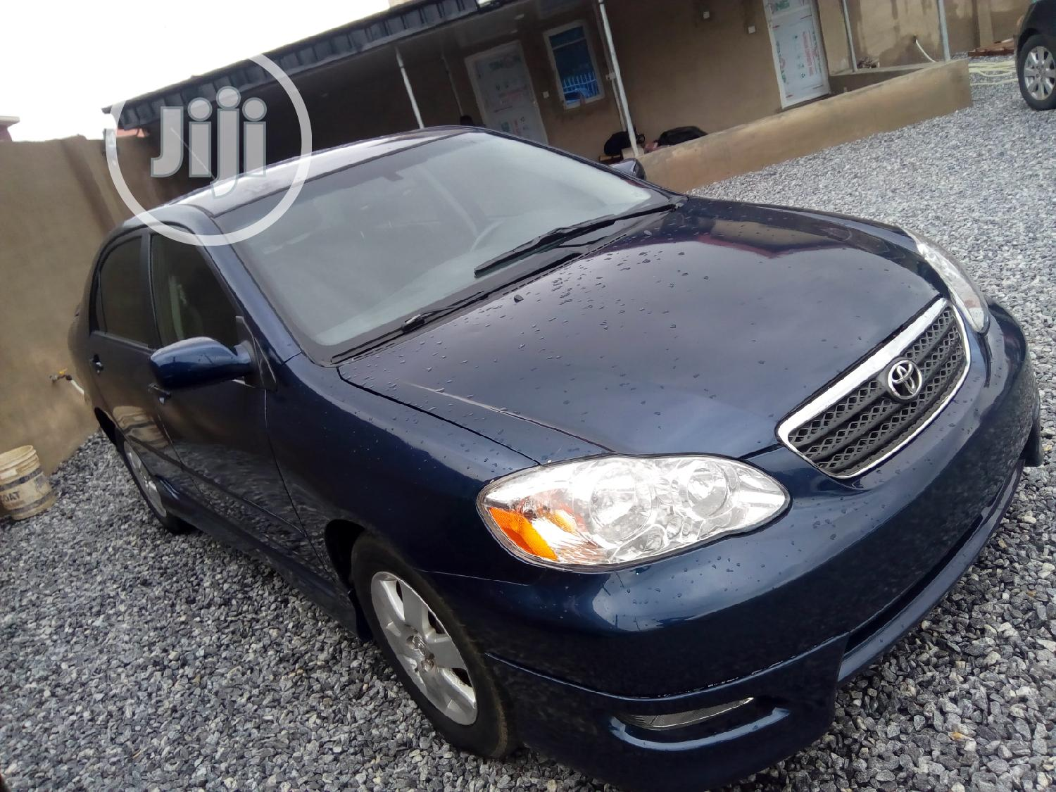 Toyota Corolla 2007 Le Blue In Magodo Cars Easygold Motors Jiji Ng For Sale In Magodo Buy Cars From Easygold Motors On Jiji Ng