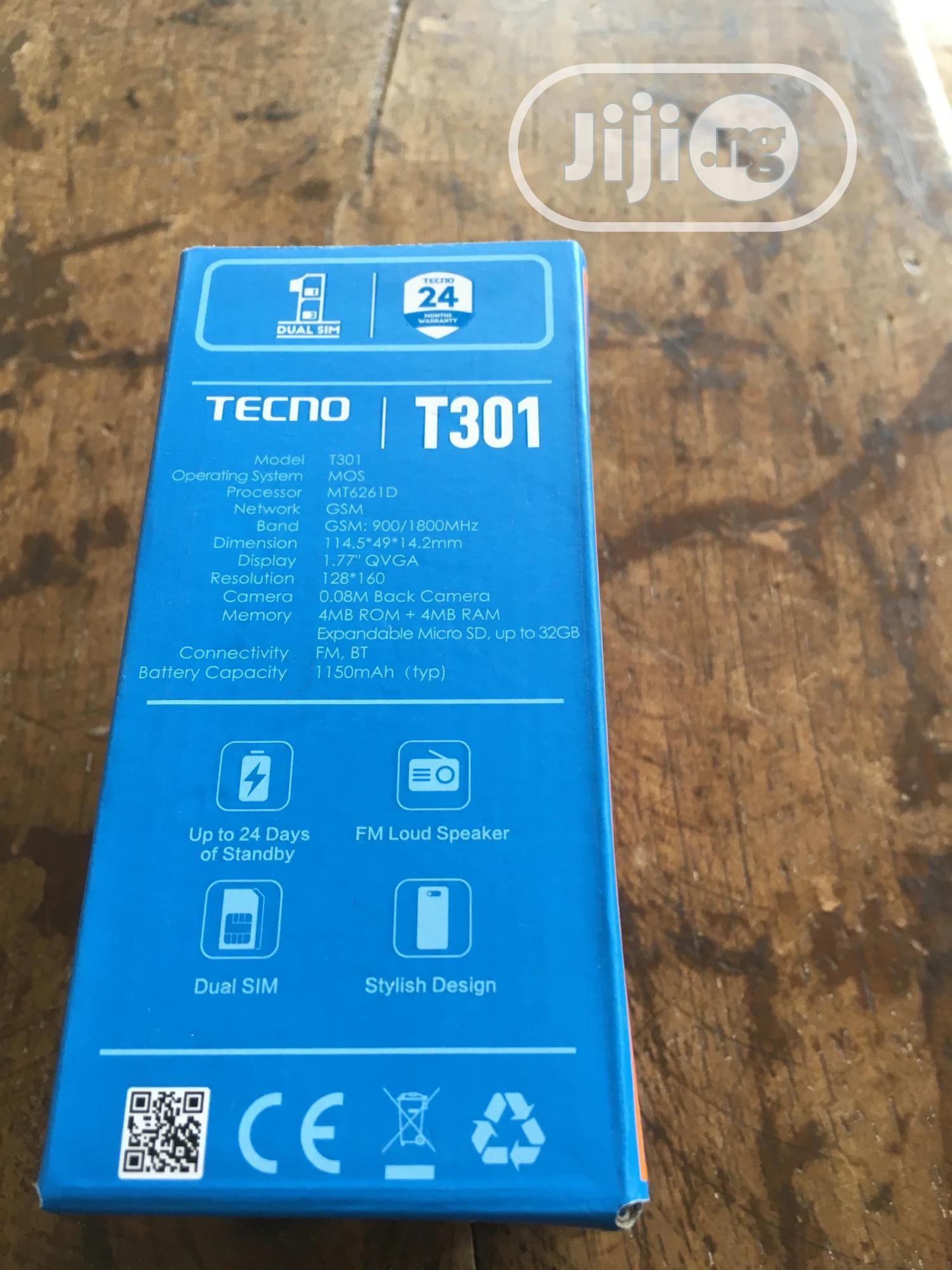 New Tecno T301 Gold | Mobile Phones for sale in Abeokuta North, Ogun State, Nigeria