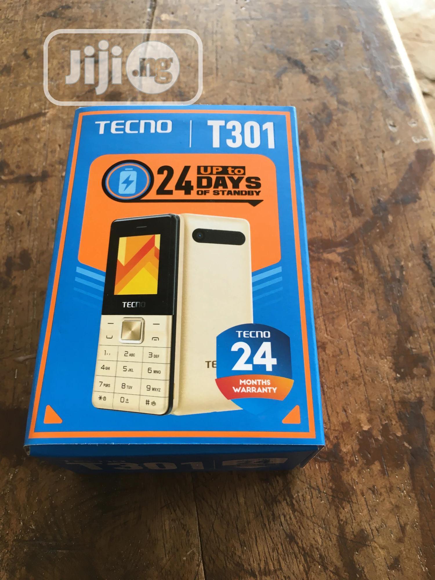 New Tecno T301 Gold