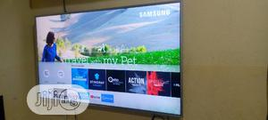 "Ultra Slim Samsung 49"" Uhd 4k Hdr Flat Tv { MU6400 } | TV & DVD Equipment for sale in Lagos State, Ojo"