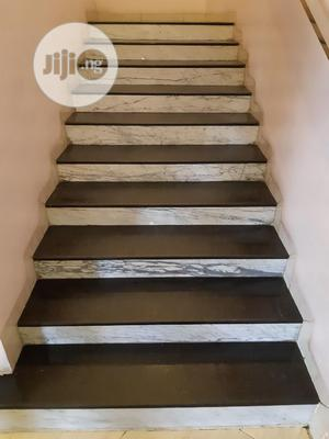 White Slab And Black Galaxy Floor Tiles | Building Materials for sale in Lagos State, Orile