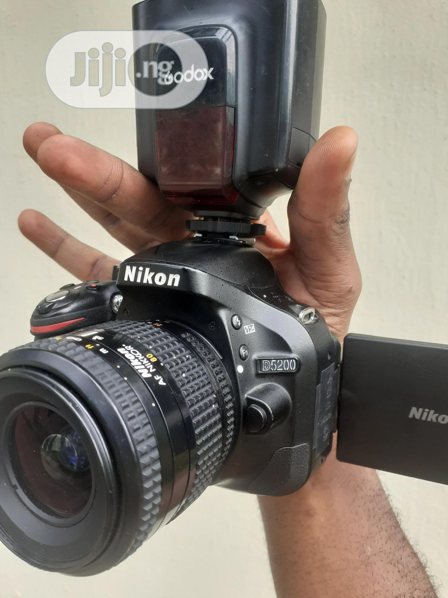 Archive: Nikon D5200 With Speedlite And 35-80mm Nikkor Lens