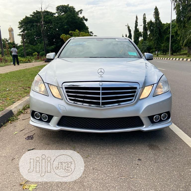 Mercedes-Benz E350 2010 Silver | Cars for sale in Wuse 2, Abuja (FCT) State, Nigeria