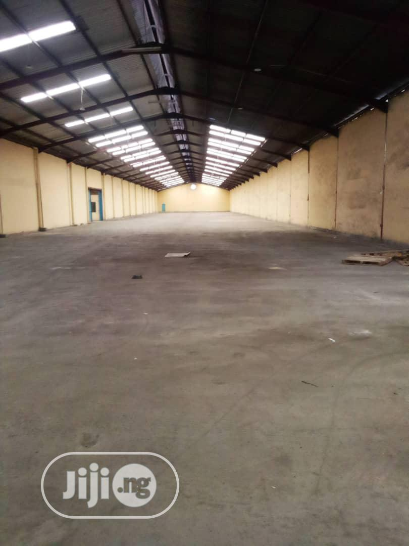 Warehouse At Matori Mushin Industrial Scheme For Lease