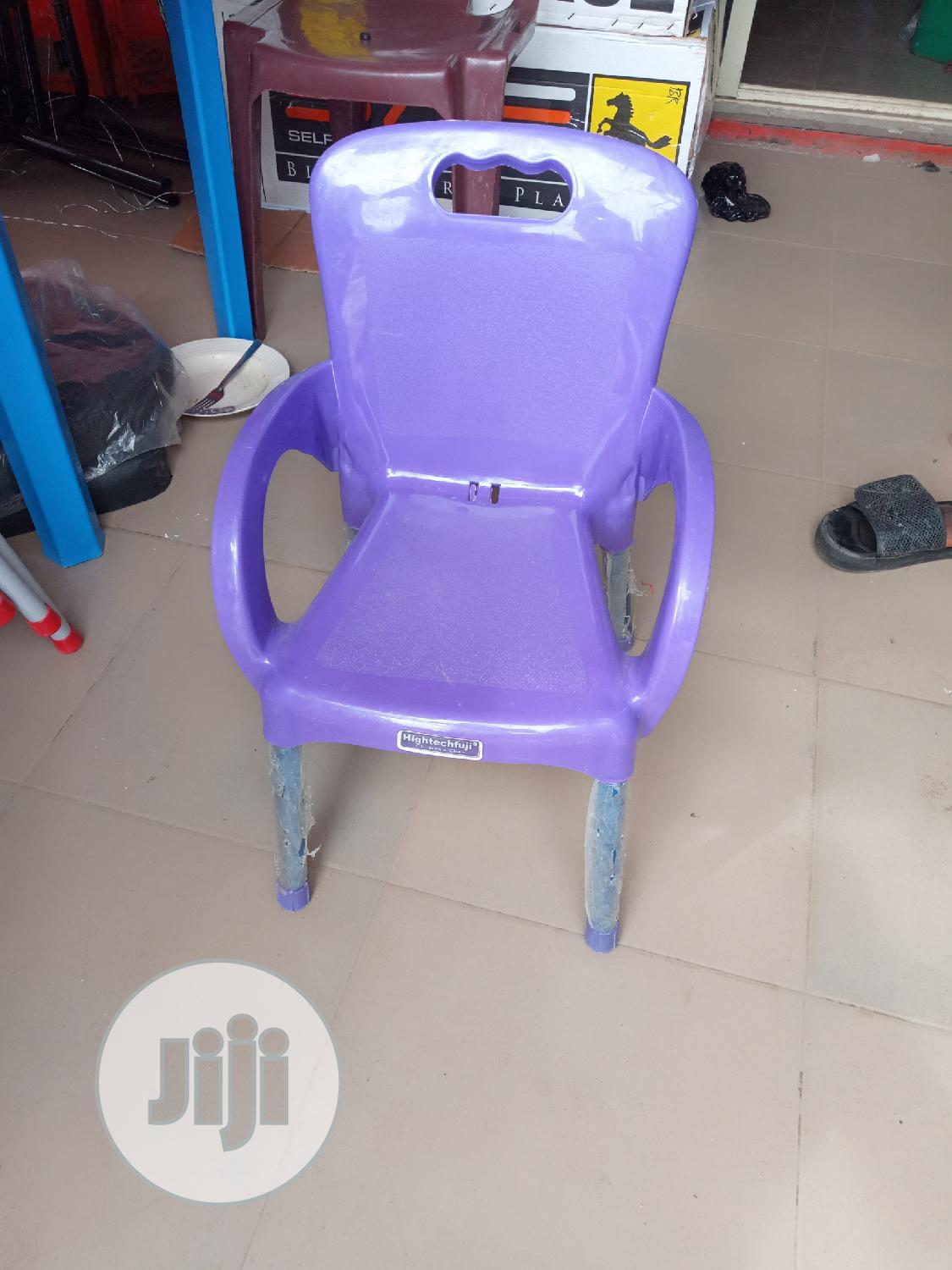 Iron Leg Plastic Children's Chair