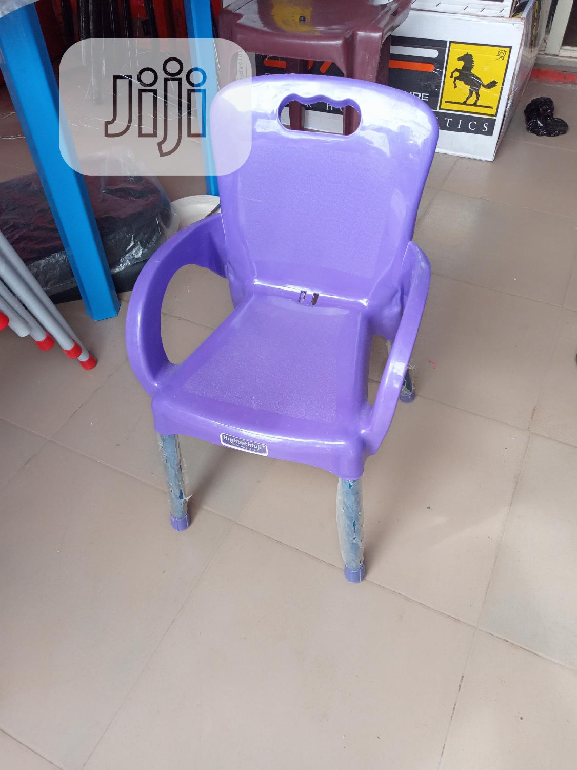 Iron Leg Plastic Children's Chair | Children's Furniture for sale in Lekki, Lagos State, Nigeria