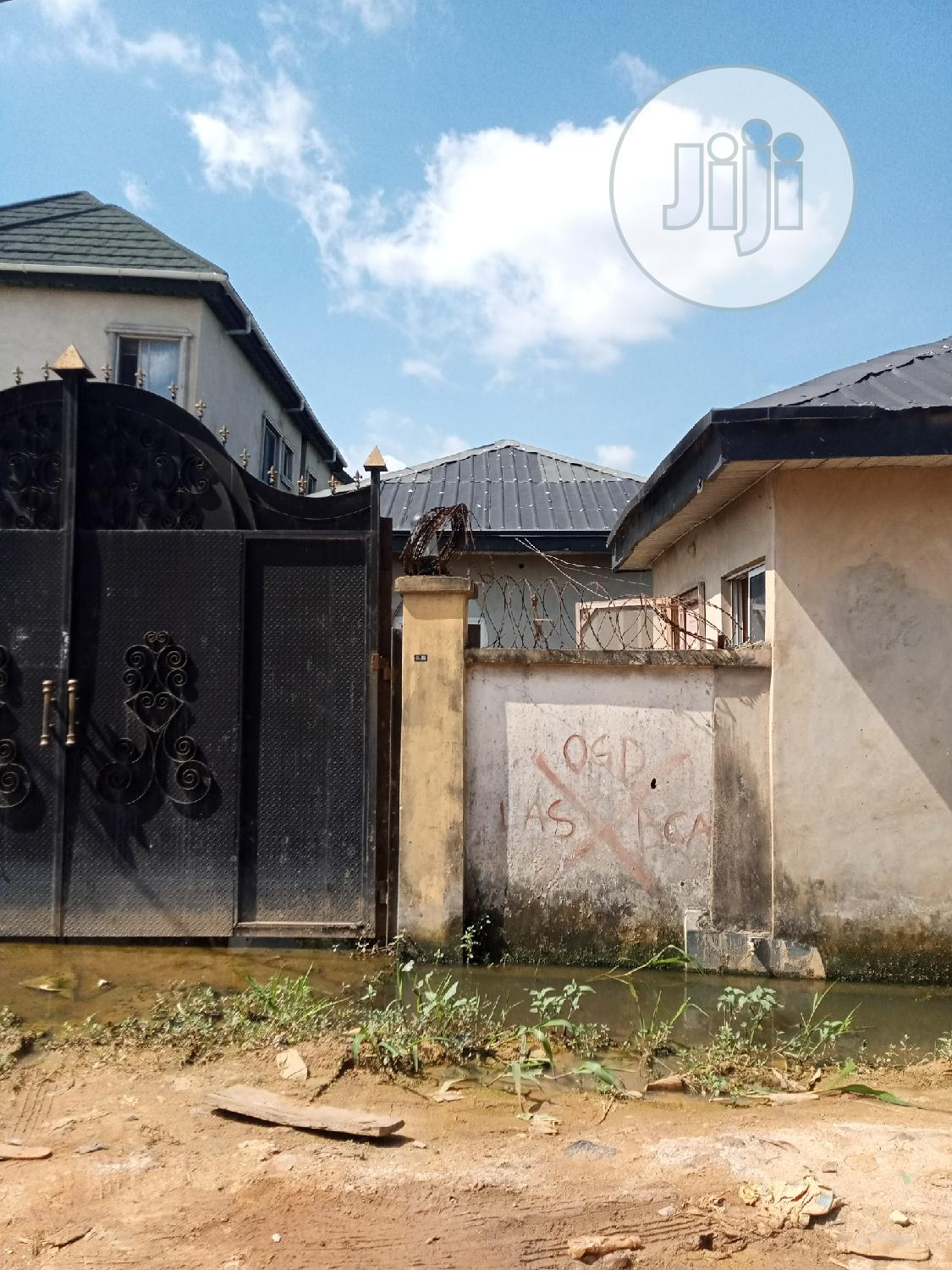 Cheap And Clean Bungalow On Half Plot Land For Sale   Houses & Apartments For Sale for sale in Ifako-Gbagada, Gbagada, Nigeria