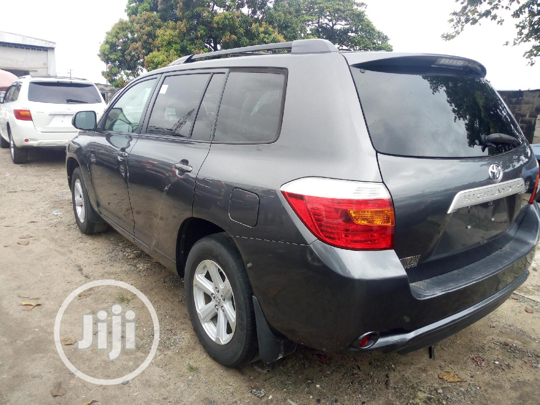 Toyota Highlander Sport 2010 Gray   Cars for sale in Amuwo-Odofin, Lagos State, Nigeria