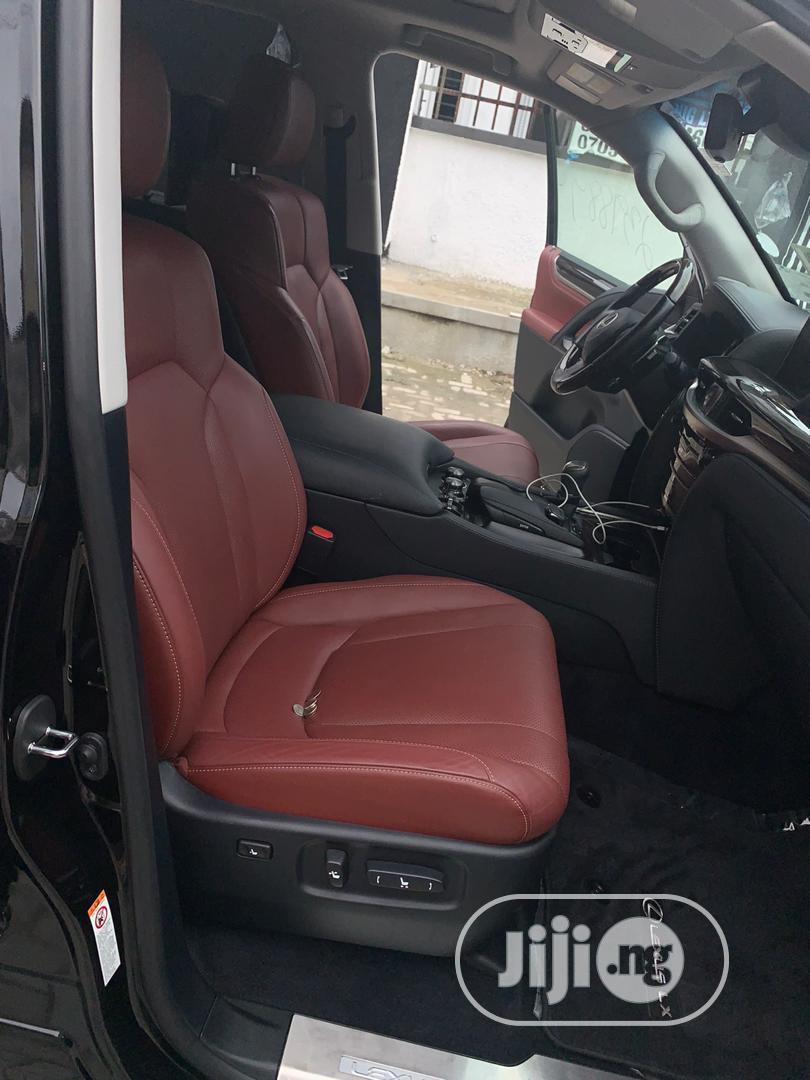 Lexus LX 2017 570 Base Black | Cars for sale in Ikeja, Lagos State, Nigeria