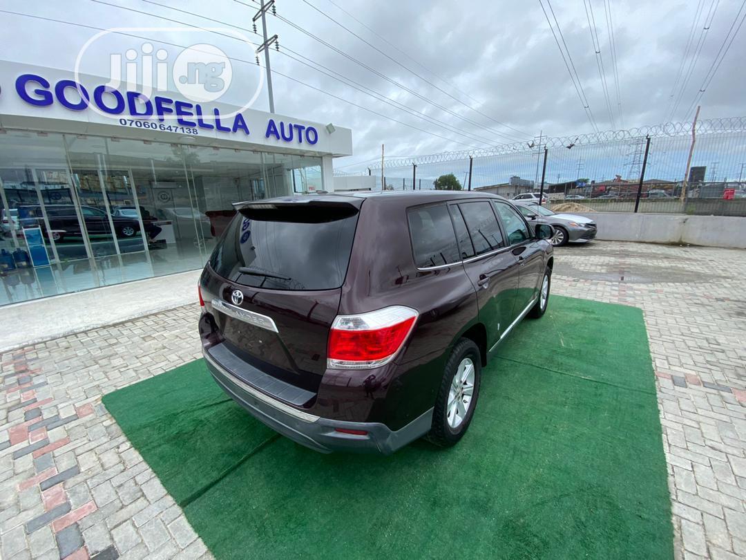 Toyota Highlander 2011 Purple   Cars for sale in Lekki, Lagos State, Nigeria