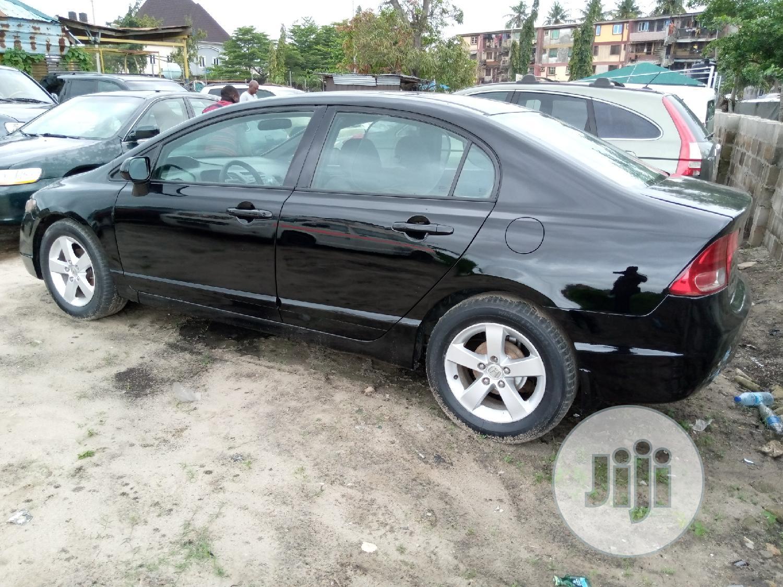 Honda Civic 2008 1.4 Black | Cars for sale in Amuwo-Odofin, Lagos State, Nigeria