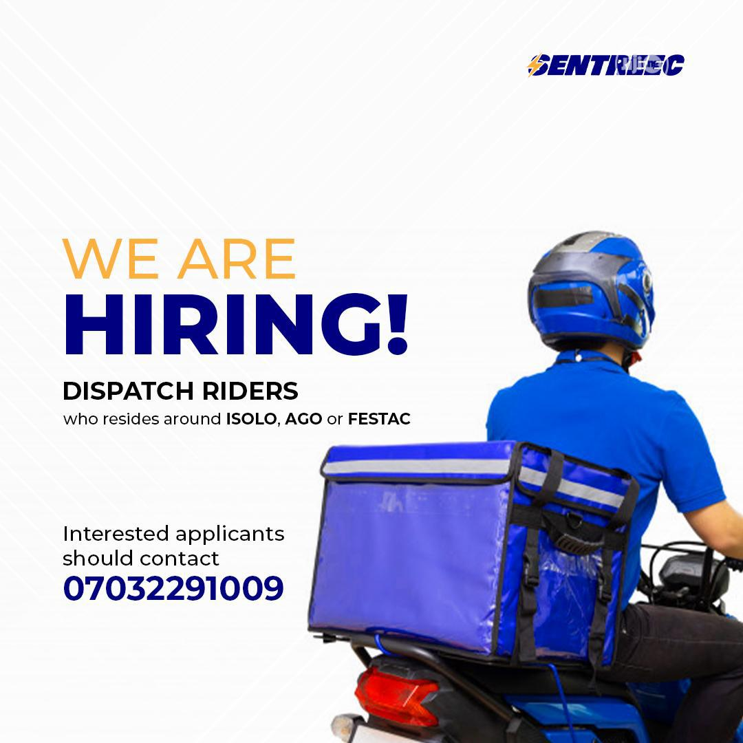 Archive: Dispatch Rider Wanted