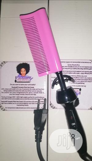 Hot Comb 2 -Paulajeff Pink | Tools & Accessories for sale in Rivers State, Port-Harcourt