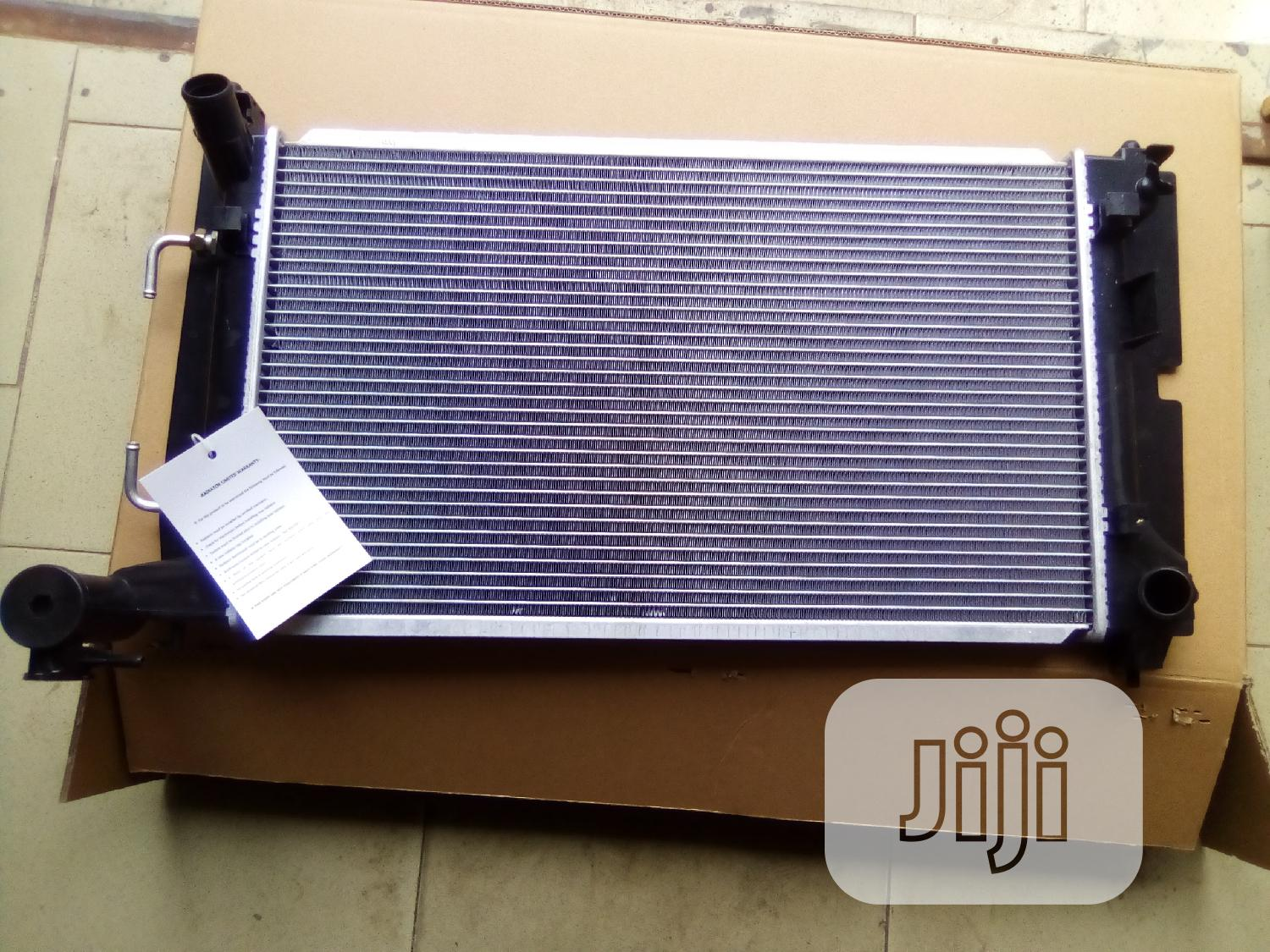 Auto Cooling Radiator For Corolla 2005 Model