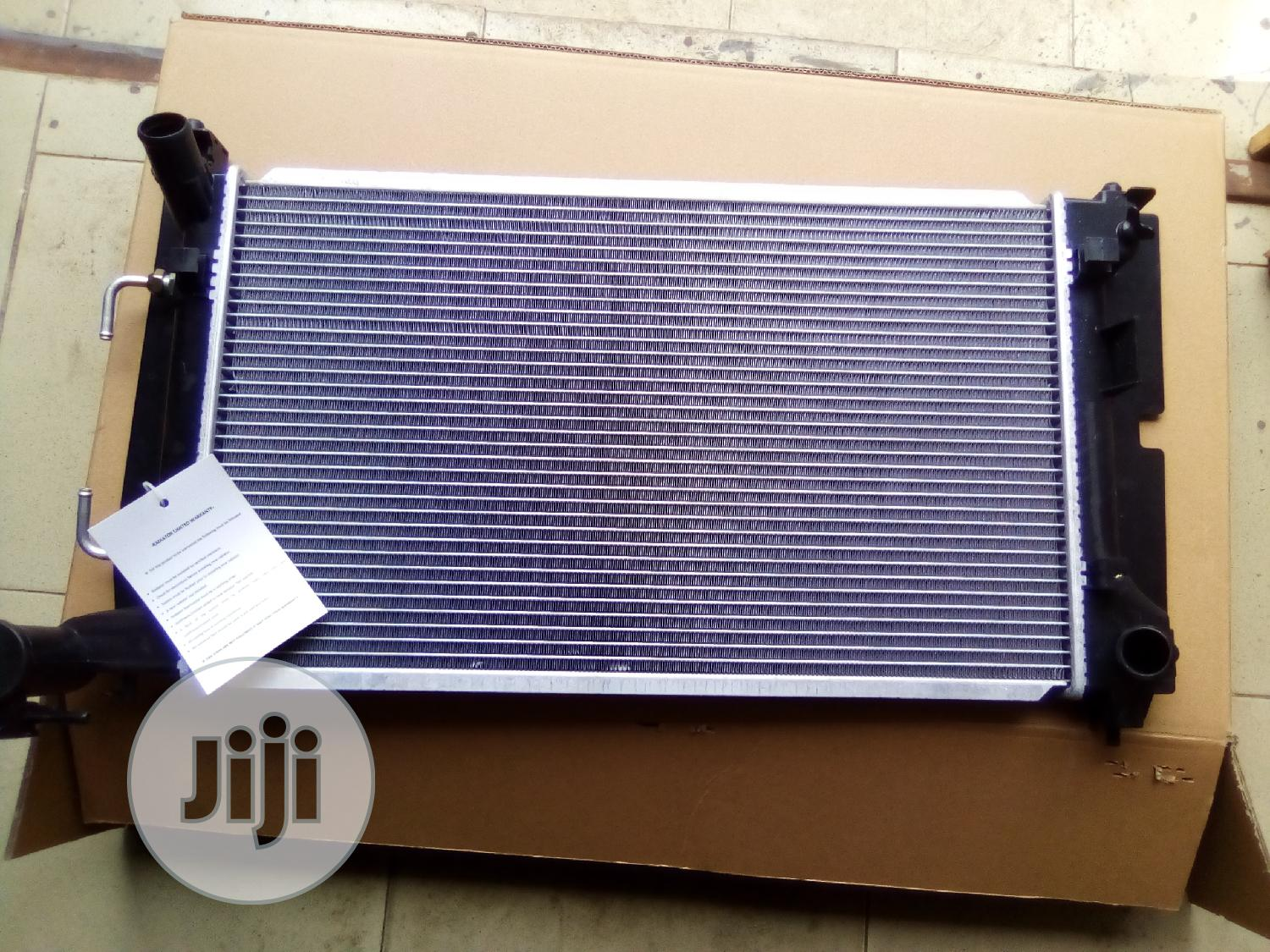 Auto Cooling Radiator For Corolla 2005 Model | Vehicle Parts & Accessories for sale in Mushin, Lagos State, Nigeria