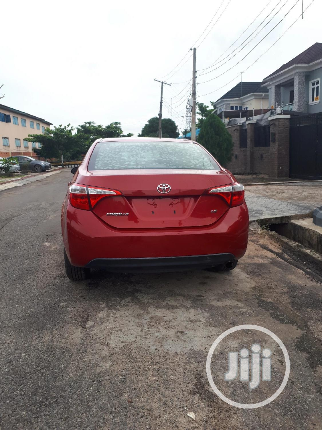 Toyota Corolla 2015 Red | Cars for sale in Agege, Lagos State, Nigeria
