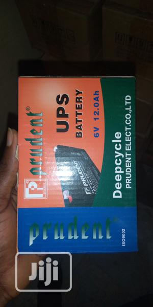 6v Rechargeable 12.0 Ah Battery | Solar Energy for sale in Lagos State, Ikeja