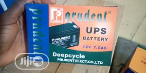 Prudent Rechargeable Lead Acid Battery Backup 12v 7ah | Solar Energy for sale in Lagos State, Ikeja