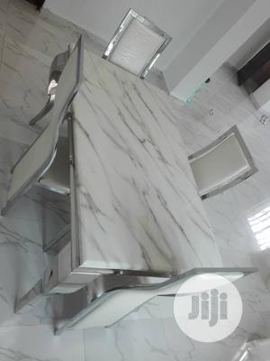 Marble Dinning Table With 4 Chairs | Furniture for sale in Lagos State, Lekki