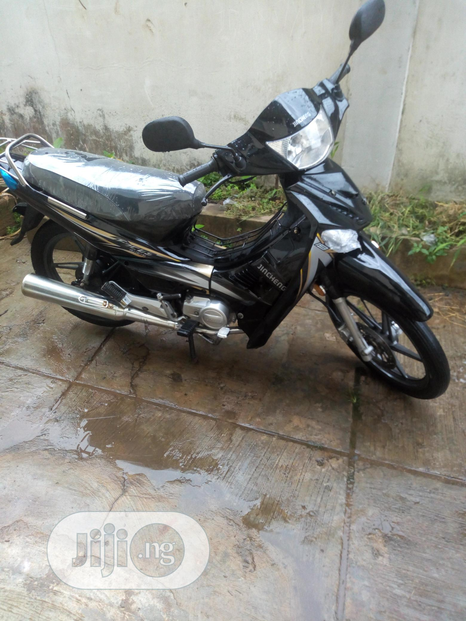 Jincheng Bike 2008 Black | Motorcycles & Scooters for sale in Ibadan, Oyo State, Nigeria