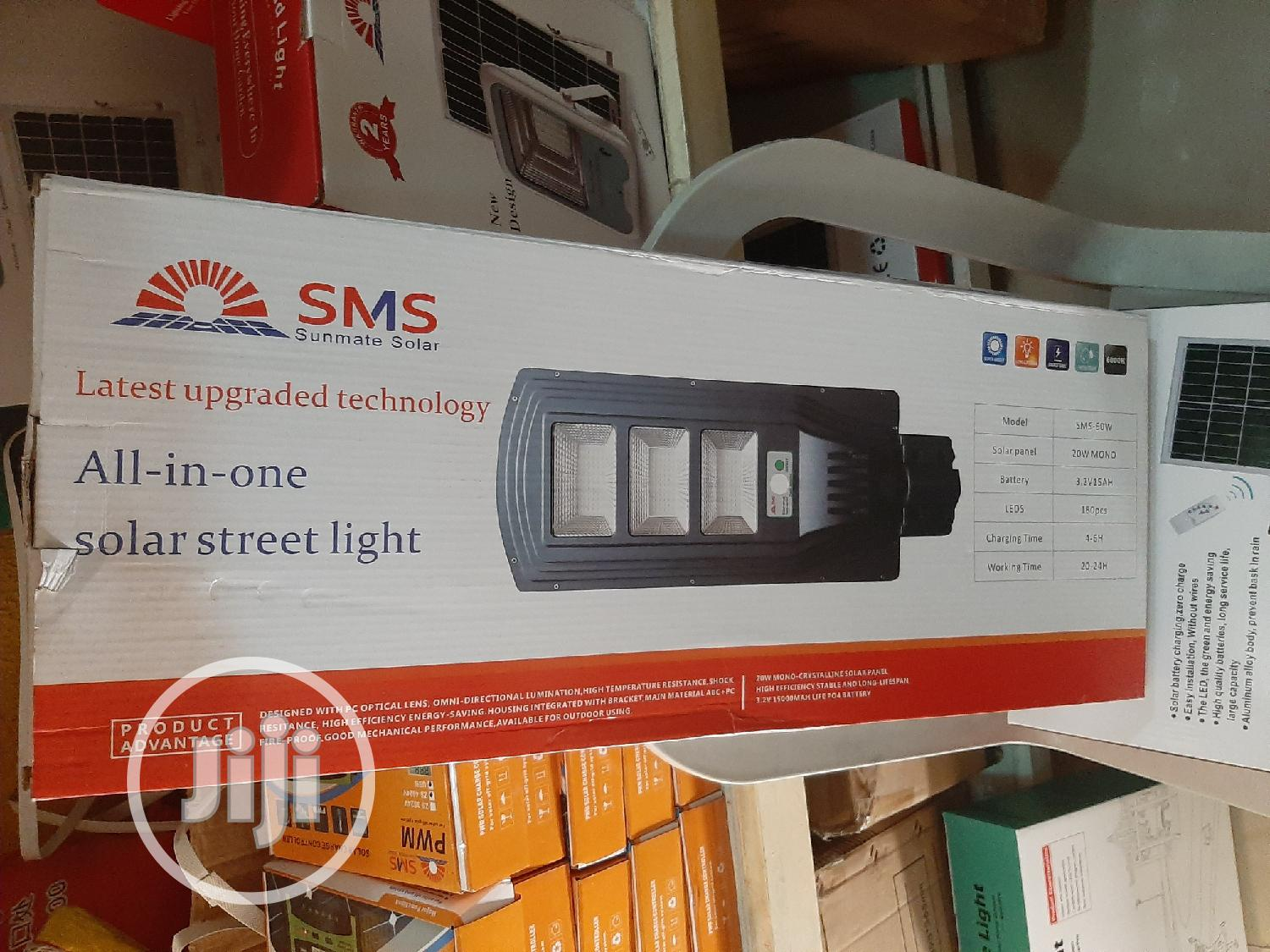 90watt SMS All in One Solar Street Light Is Now Available | Solar Energy for sale in Ojo, Lagos State, Nigeria