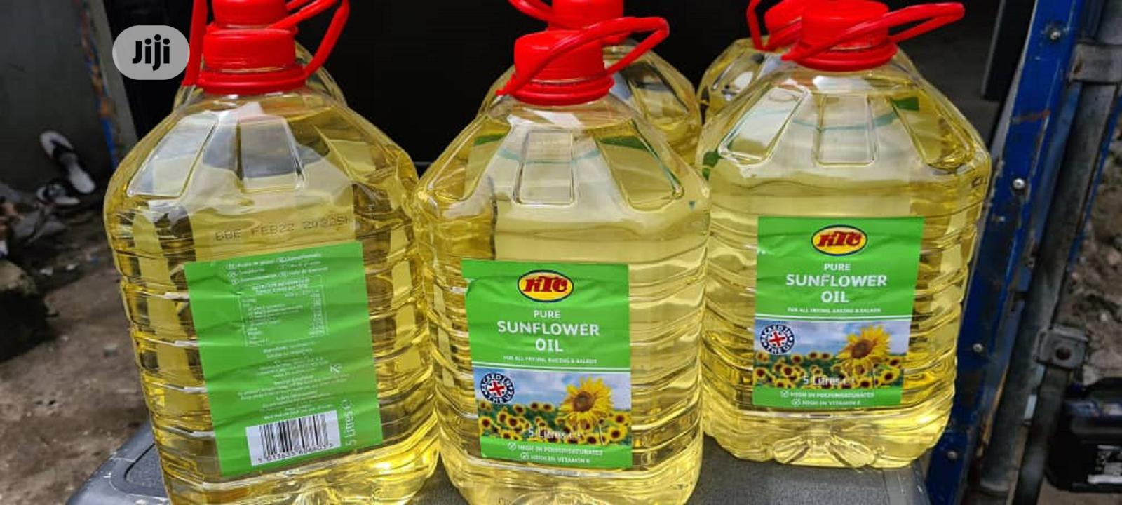 KTC Pure Sunflower Oil 5litres (Original)