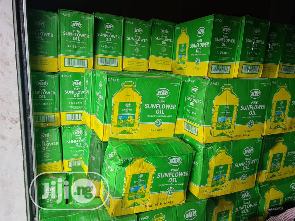 KTC Pure Sunflower Oil 5litres (Original) | Meals & Drinks for sale in Benin City, Edo State, Nigeria