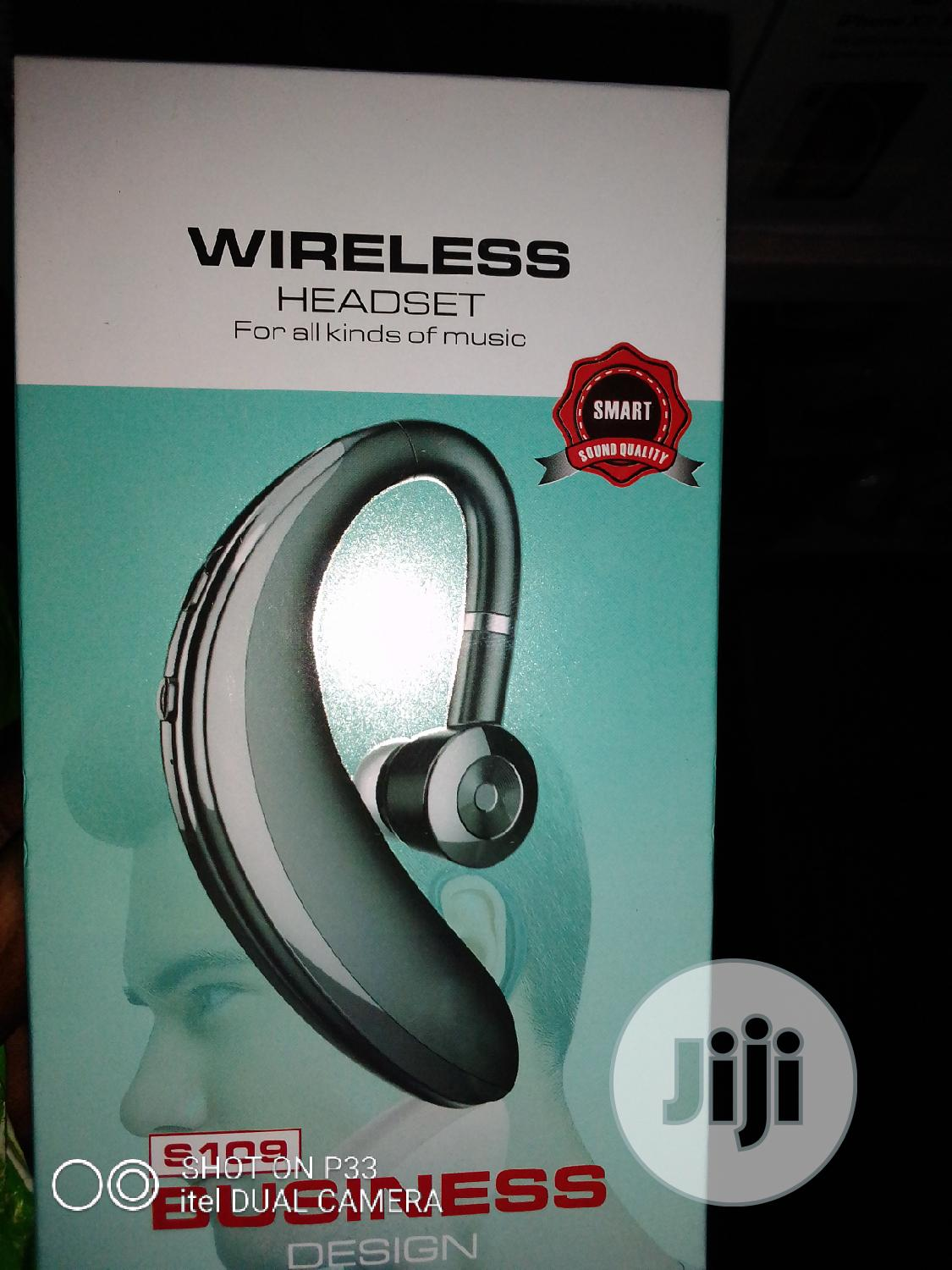 Wireless $Smart One Ear Bluethooth | Accessories for Mobile Phones & Tablets for sale in Ojo, Lagos State, Nigeria