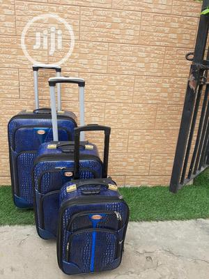 Blue Suite Case Trolley Case Available In Stock | Bags for sale in Lagos State, Ikeja