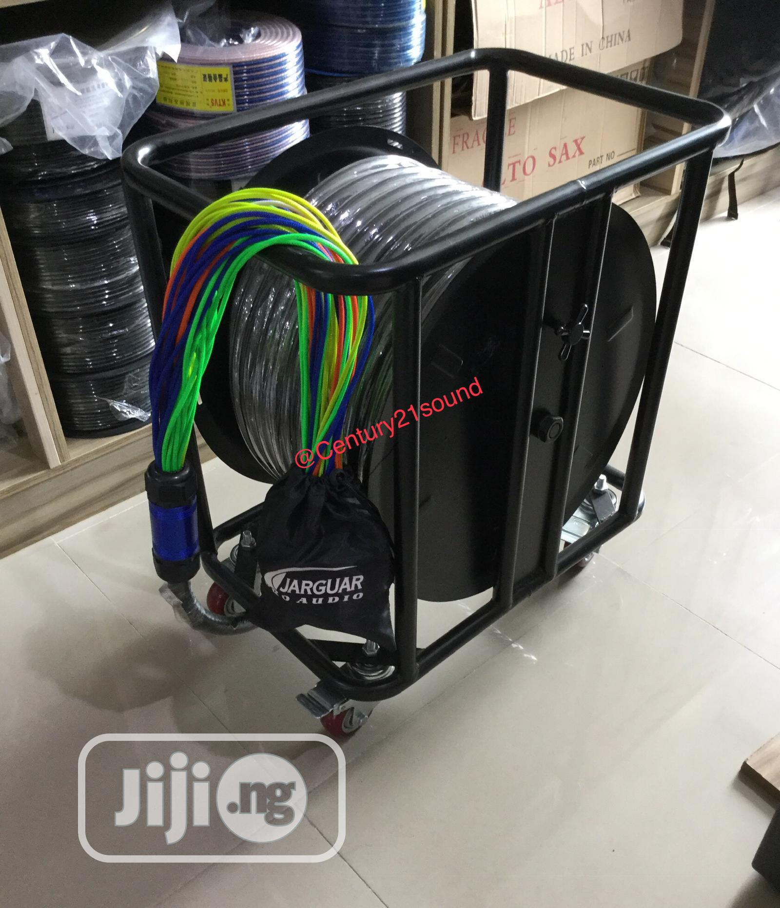 Jarguar 32 Channels 70 Meter Snake Cable On Stage Box Reel