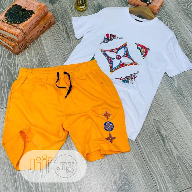 Matching T-Shirt and Short