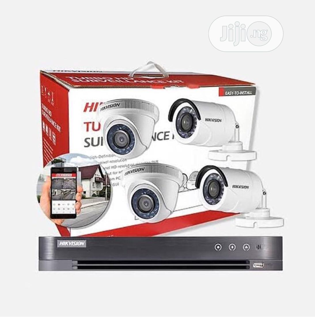 Hikvision Turbo HD CCTV Surveillance Kit