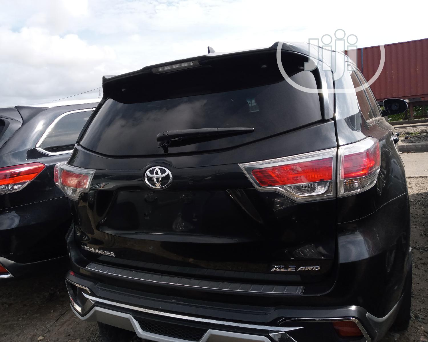 Toyota Highlander 2015 Black | Cars for sale in Apapa, Lagos State, Nigeria
