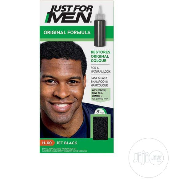 Archive: Just For Men Jet Black H-60 Hair Colour Hair Dye