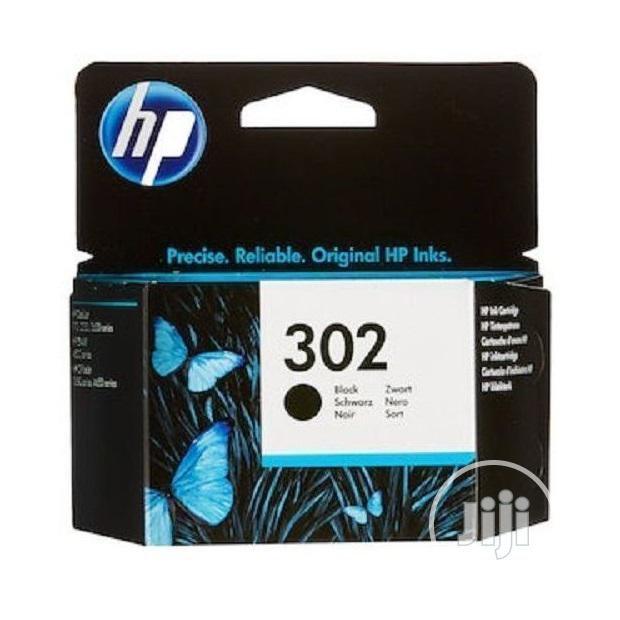 Hp 302 Black Genuine Ink Printer Cartridge -a11