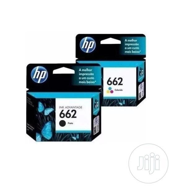 HP Ink Cartridge -662 Printer Black -a11